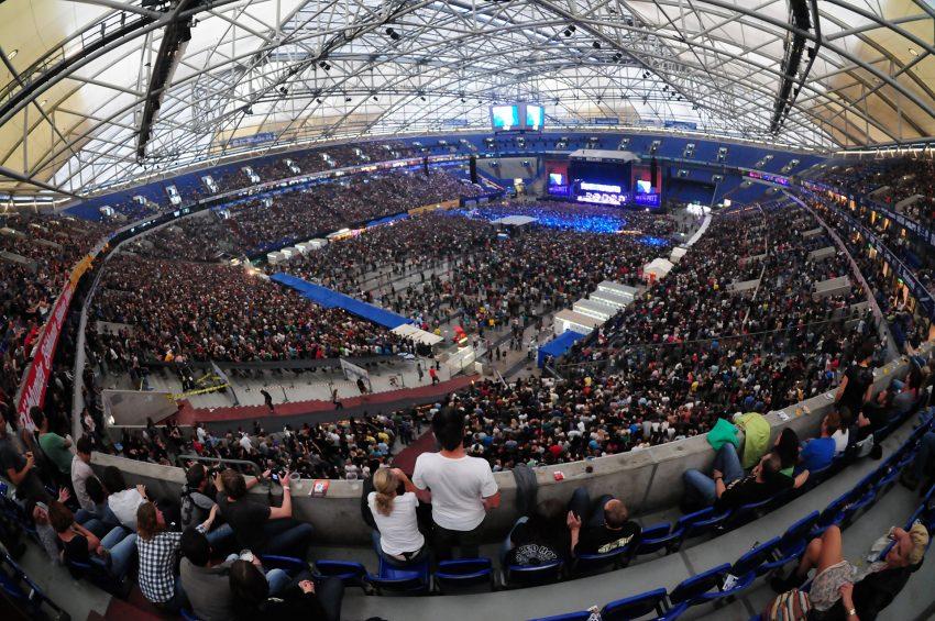 Die Arena bei Rock im Pott 2012