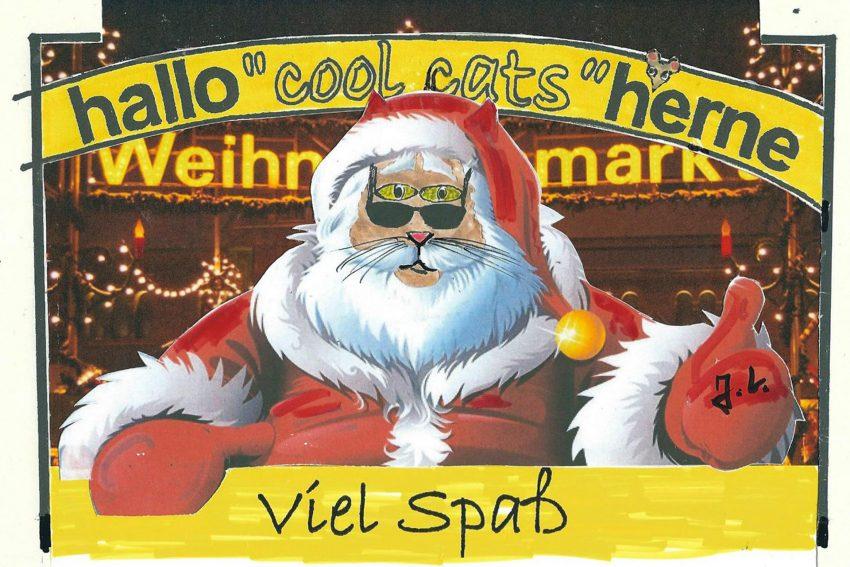 Heute kommt der Nikolaus - oder auch nicht.