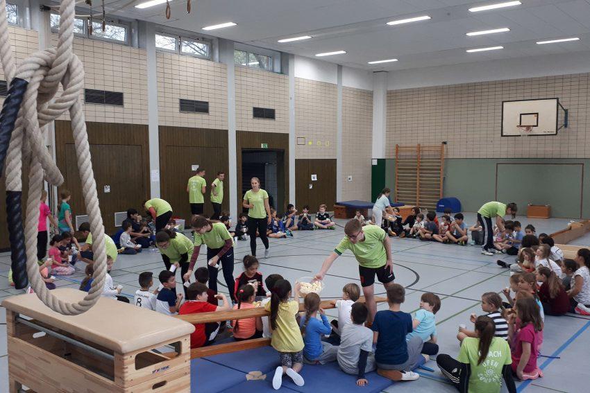 Erster Open Sunday in der Sporthalle Jürgens Hof.