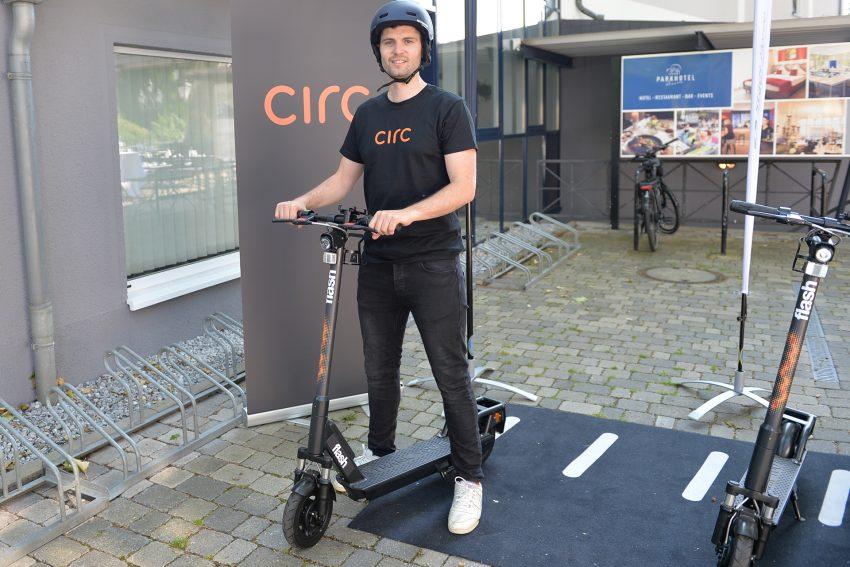 Max Hüsch, Deutschland-Chef des Berliner Start-Up Circ (vorher Flash).