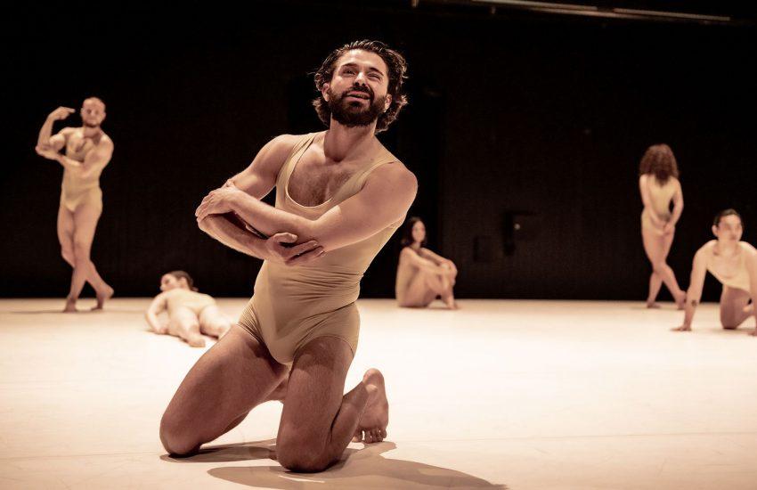 """Dem ersten Paar der Menschheitsgeschichte widmen sich die Choreografen Roy Assaf und Liliana Barros in """"Adam & Eve"""" am Gelsenkirchener Musiktheater im Revier."""