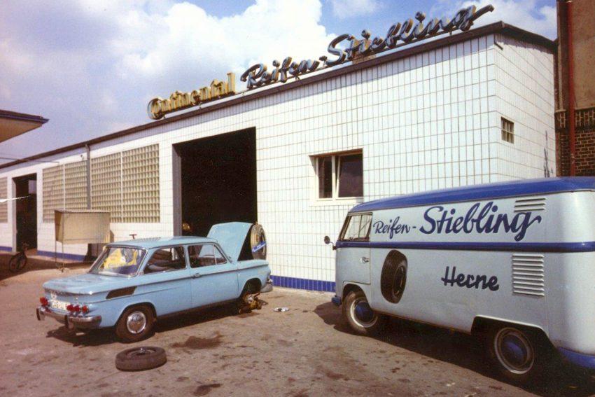 Reifen Stiebling, Historische Aufnahme