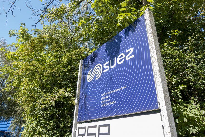 Suez RR IWS Remediation GmbH an der Südstraße 41 in Herne (NW), am Donnerstag (30.07.2020).