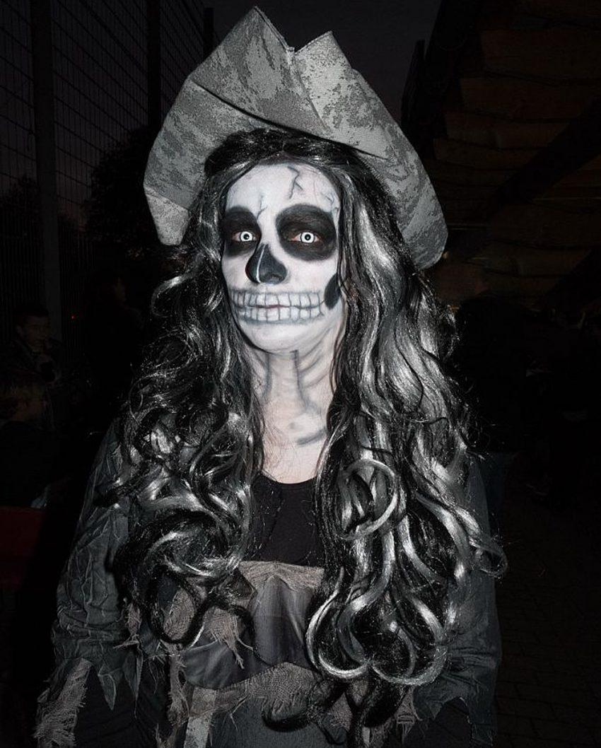 Halloween-Party im Wanner Stadtgarten.