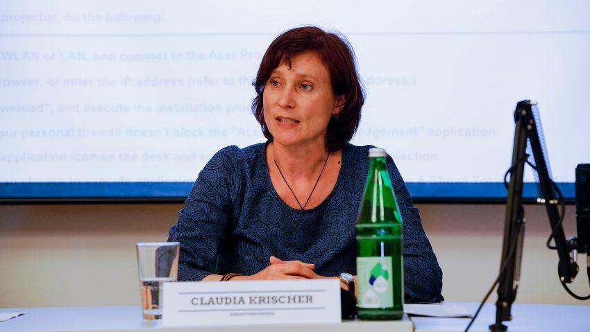 Herner Grüne Wahlkampfauftakt, Claudia Krischer