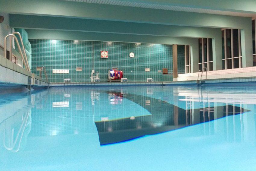 Schwimmhalle im Otto-Hahn-Gymnasium.