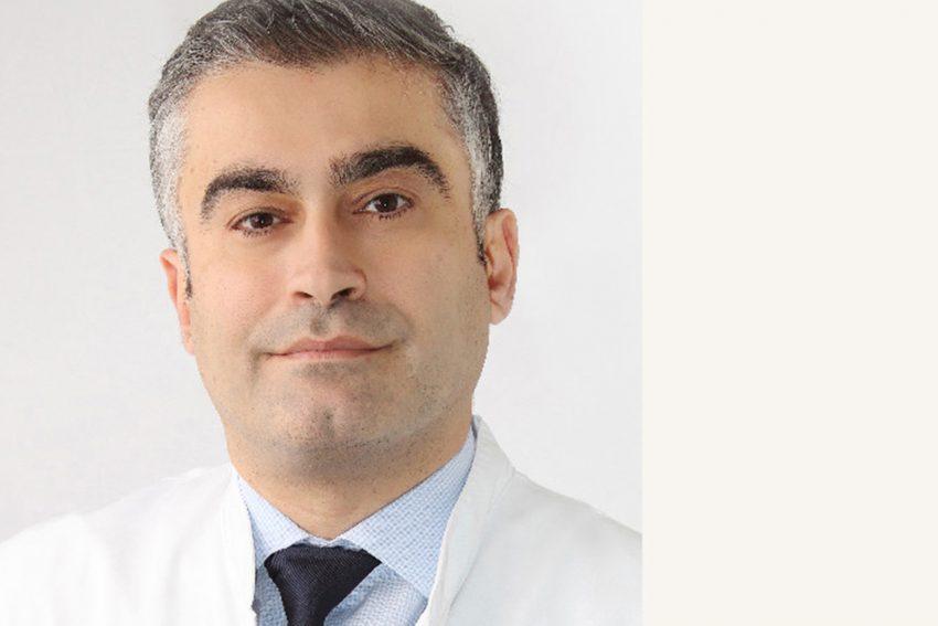 Privatdozent Dr. med. Payman Majd, Leiter der Gefäßchirurgie des Evangelisches Krankenhauses in Bergisch Gladbach.
