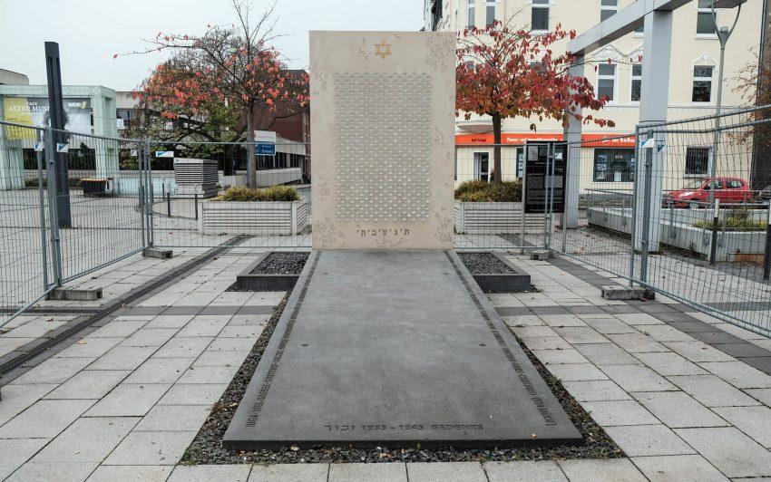 Das Shoah-Denkmal.