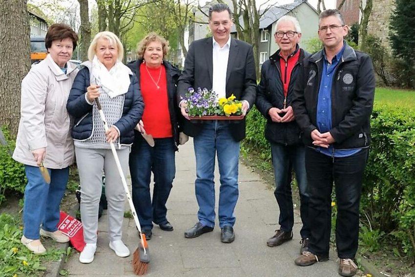 Frühjahrsputz in Horsthausen.