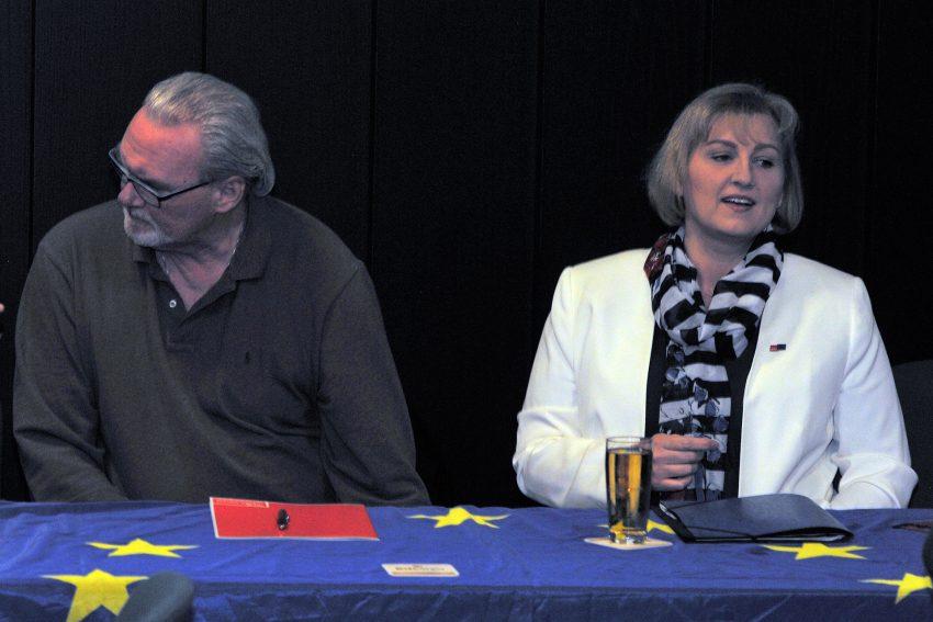 v.l. Oliver Grabowski, Kirsten Eink.