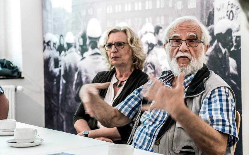 v.l. Renate und H.D. Gölzenleuchter.