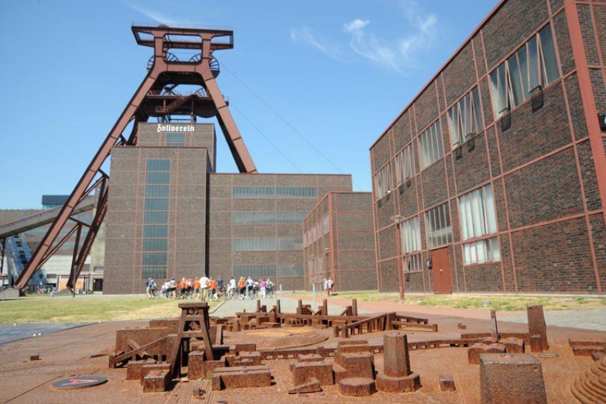 Zeche Zollverein in Essen.