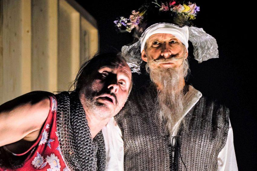 """""""Don Quijote"""" von Jakob Nolte nach Miguel de Cervantes in der Regie von Jan Bosse mit Wolfram Koch und Ulrich Matthes."""