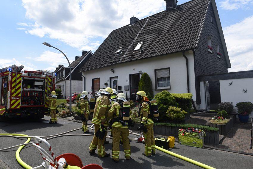 Ein Trockner fing Feuer und löste einen Kellerbrand aus.