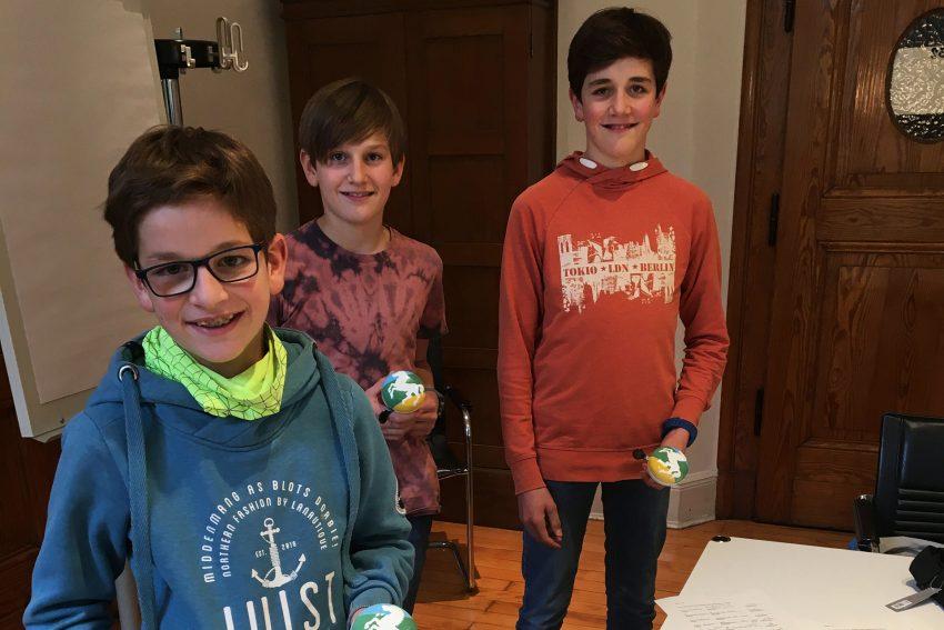 Die Brüder Anton, Moritz und Julius Kleyboldt setzen sich für einen Bikepark in Herne ein.