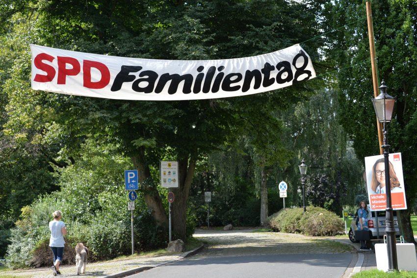 SPD-Familienfest 3.9.2017, im Schlosspark Strünkede.