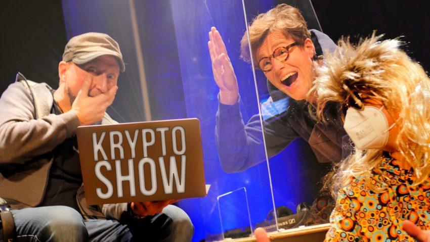 Die Krypto-Show findet am 1. April statt.