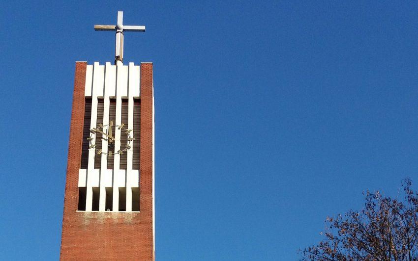 Turm der Auferstehungskirche.