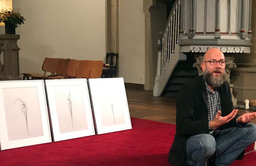 Daniel Kessen möchte, dass die Betrachter einen eigenen Zugang zu seinen Werken finden.