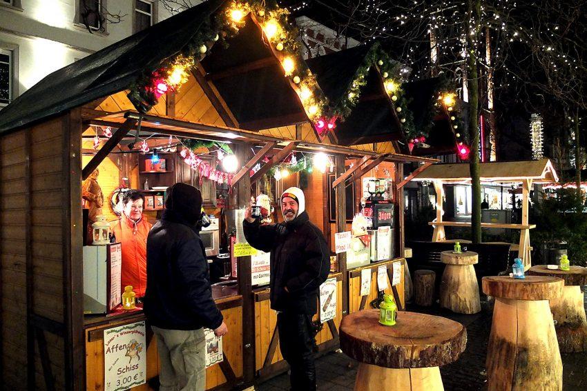 Der Weihnachtsmarkt 2013 in der Herner City.