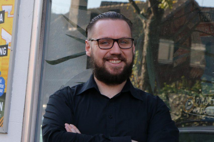Christian Stahnke - Praktikant bei der Piraten AL.
