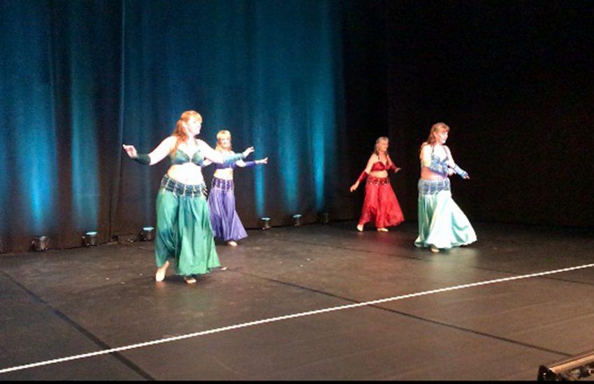Die orientalischen Tänze begeisterten die Zuschauer.
