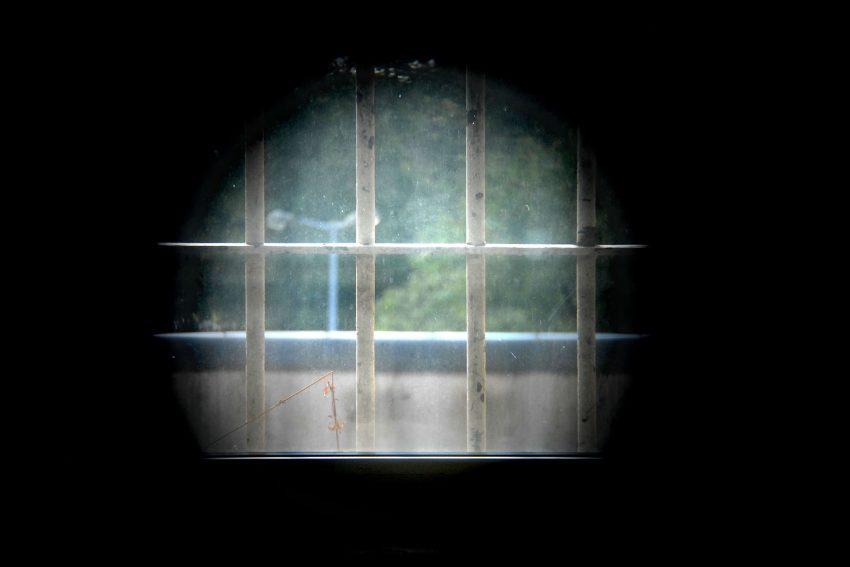 Das Hafthaus in Herne Mitte - ehemaliges Polizeigefängnis - aufgenommen im September 2007 von Wolfgang Quickels.