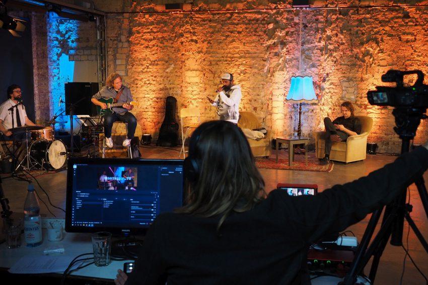 Kulturprogramm im Alten Wartesaal.