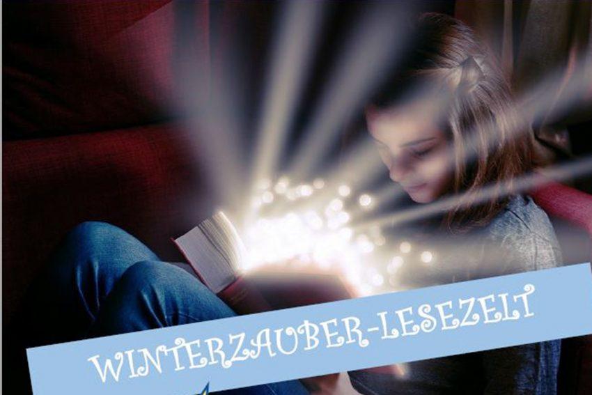 Winterzauber-Lesezelt.