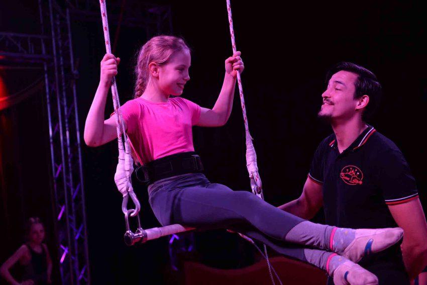 Zirkus Projektwoche an der Kolibri Schule.