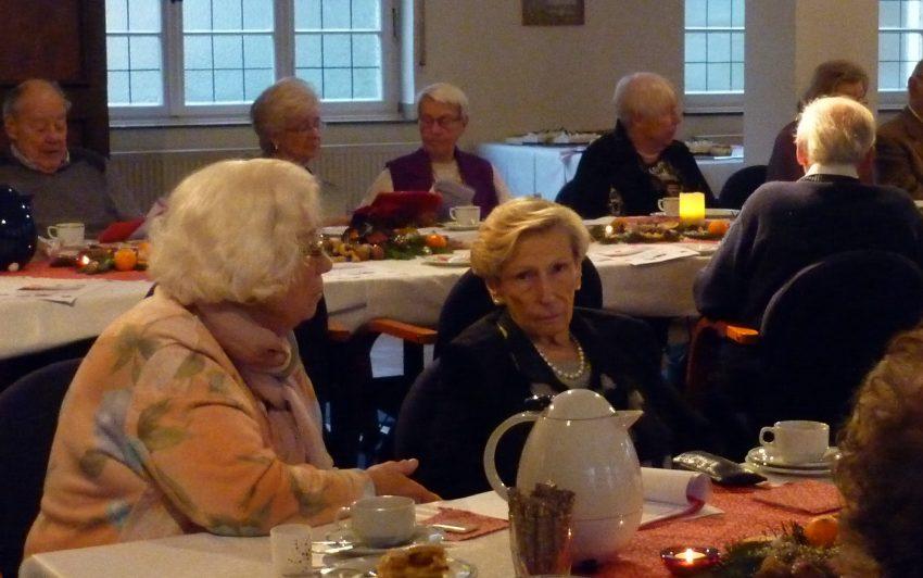 Beim Treffen des Seniorenkreises.