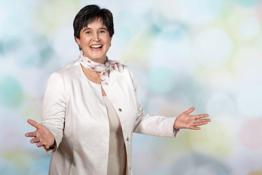 Europakandidatin: Maria Noichel.