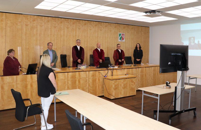 Das Oberverwaltungsgericht NRW verhandelte erstmals per Videokonferenz.