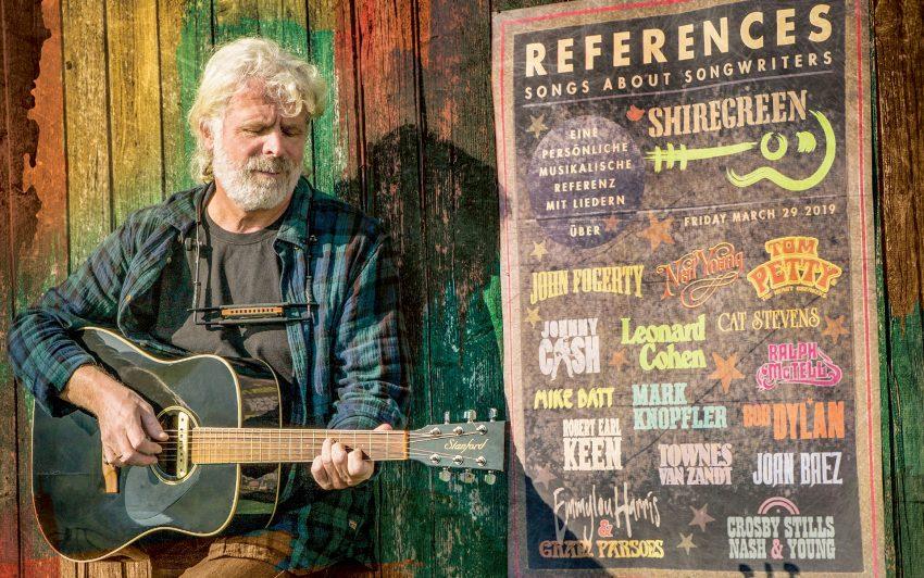 Klaus Adamaschek live mit Band in Herne.