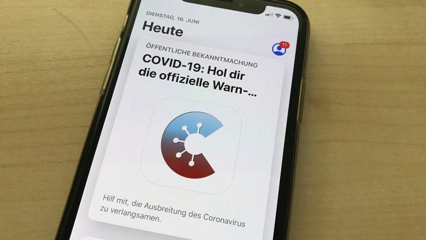 Die neue Corona-Warn-App.