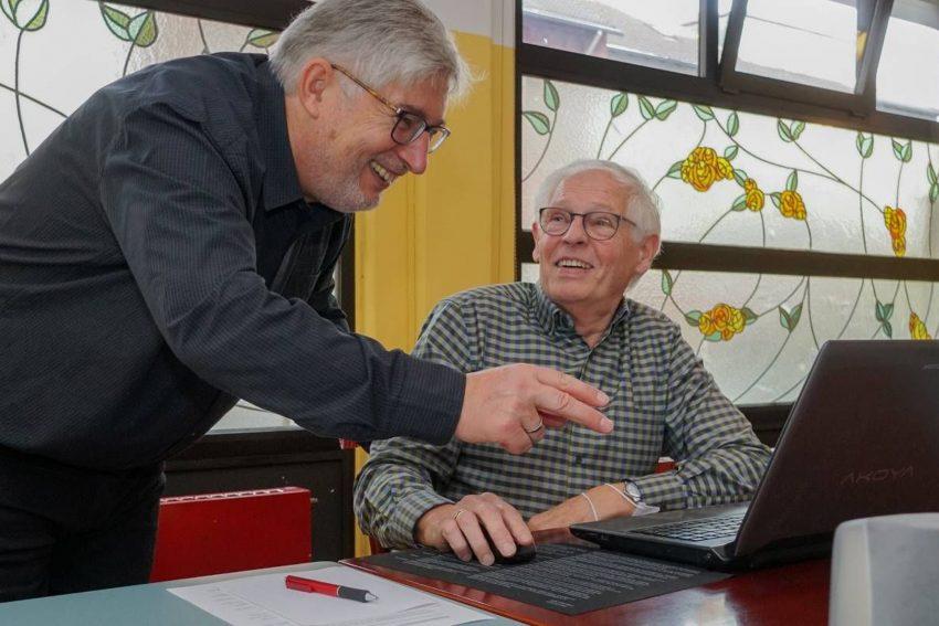 Senioren-Internetc@fé Herne in der Flora Marzina.