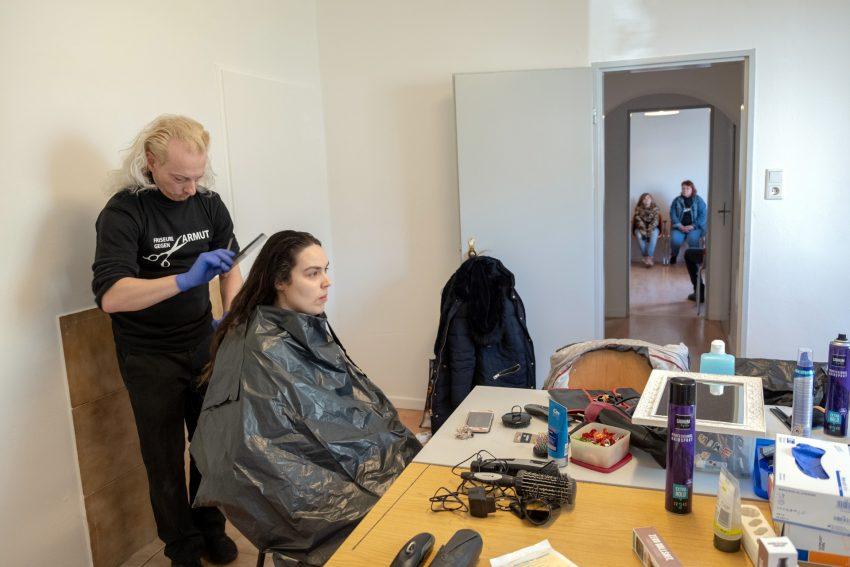 Friseure gegen Armut