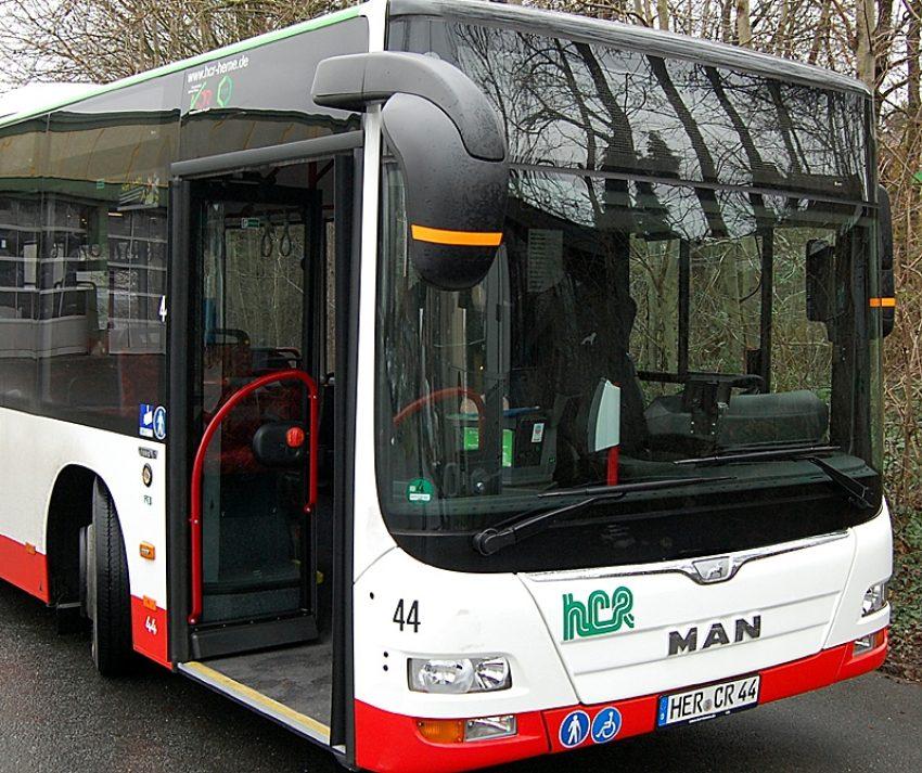 Einer der neuen HCR-Busse.