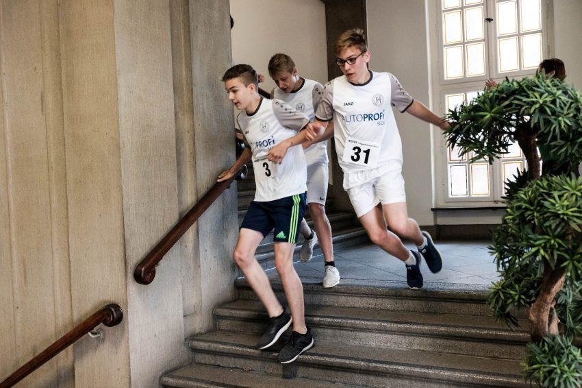 2. Woges-Treppenhauslauf.