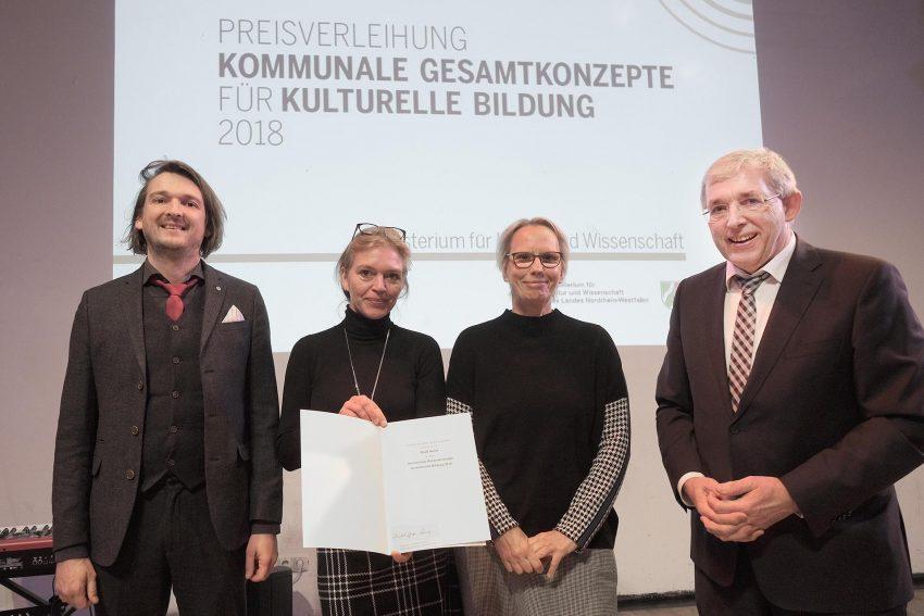 Preisverleihung Kommunale Gesamtkonzepte für kulturelle Bildung.