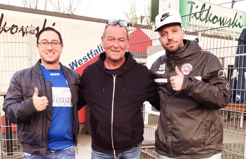 Giuseppe Fuca, Ralf Enders und Benjamin Callies.