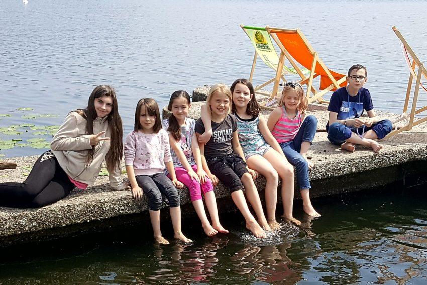 Volle Pulle Ferienprogramm für die Sunrise-Kids.