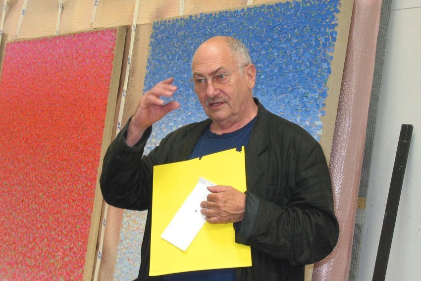 Kuno Gonschior in seinem Bochumer Atelier.