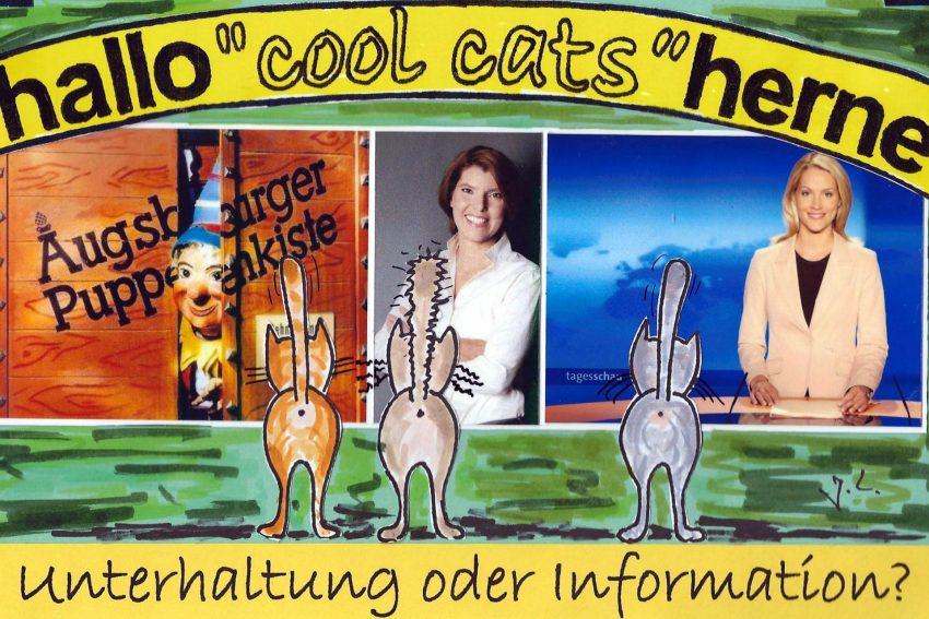 cool cats fühlen sich gesund unterhalten.