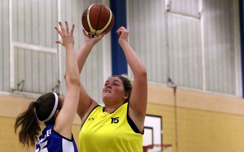 Katharina Holtkamp im Spiel gegen Dorsten.