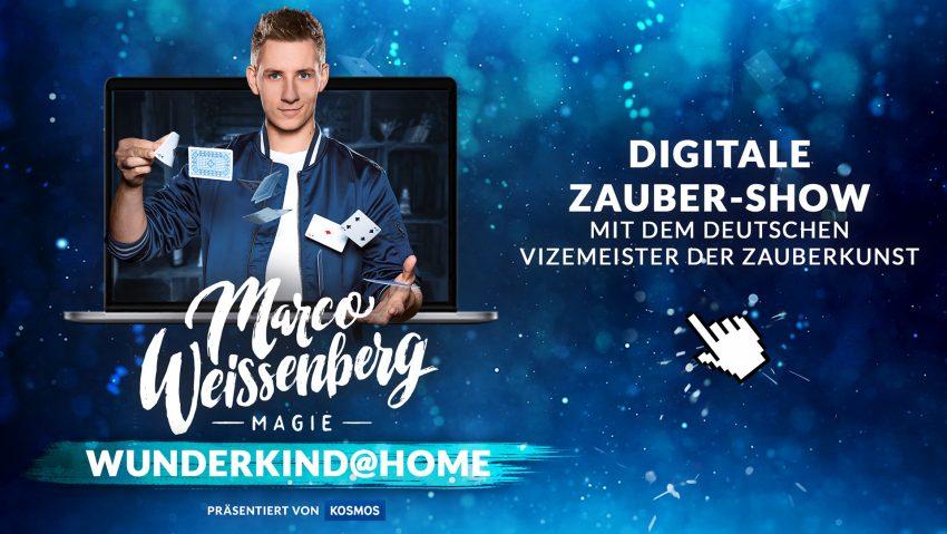 Marco Weissenberg hat sich mit seinem Team ein besonderes Konzept überlegt: WUNDERKIND@HOME.