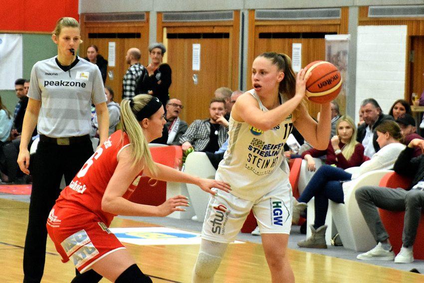 1. Basketball-Bundesliga. im Bild Laura Westerik.
