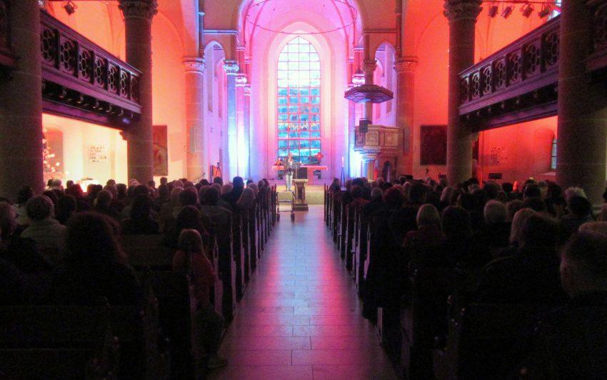 Graf Hotte sang in der Johanneskirche.