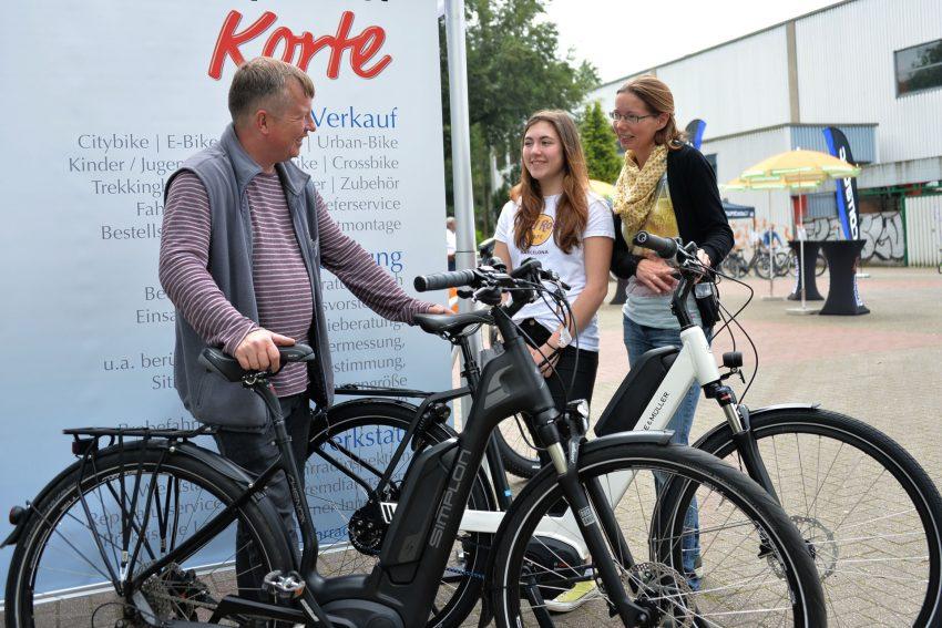 31. Umwelttag im Gysenberg - Fahrradhändler Frank Korte.