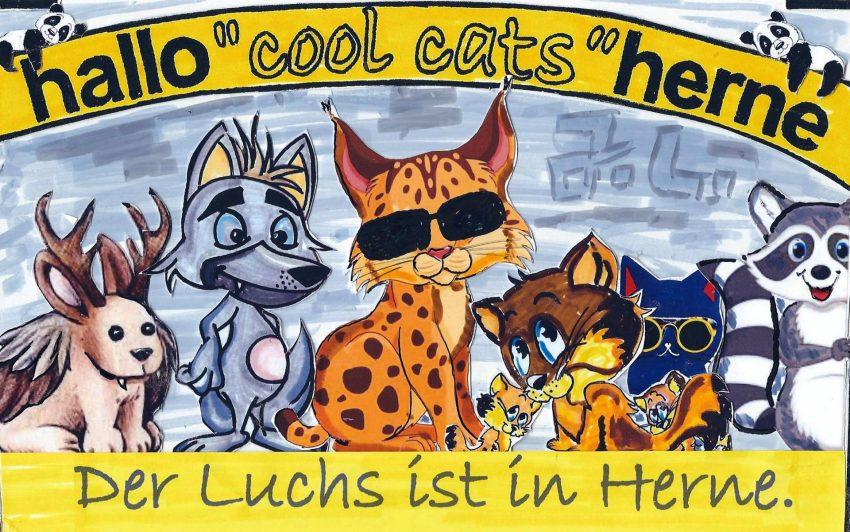 Der ccole Luchs und die cats.